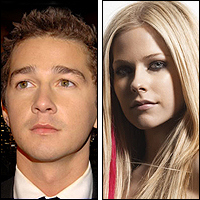 Shia LaBeouf and Avril Lavigne
