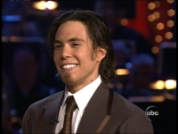 Apolo Ohno is a competitor on Dancing With the Stars