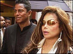 Jermaine and LaToya Jackson
