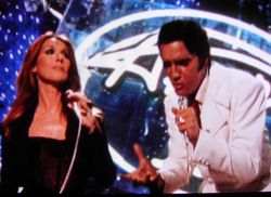 Elvis and Celine