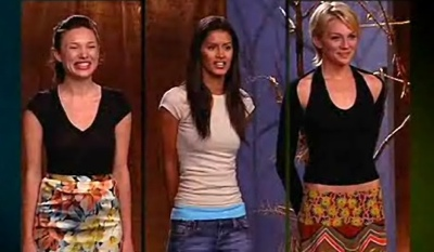 The final three models at judgement