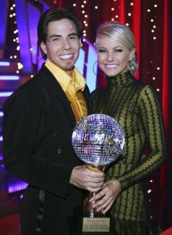 Apolo Ohno and Julianne Hough - Dancing WIth The Stars Champions