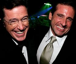 Colbert and Carell