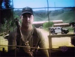 George Eads as Nick Stokes on CSI.