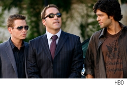 Kevin Connolly, Jeremy Piven, and Adrian Grenier