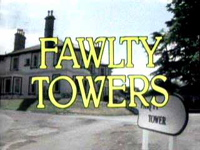 I hope no one reads the alternative text because it's here that I reveal that I never actually watched Fawlty Towers.