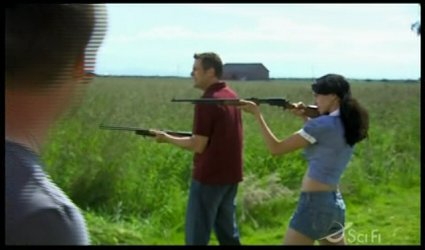 Vala goes native in Kansas - while Cam tries to use his cell phone