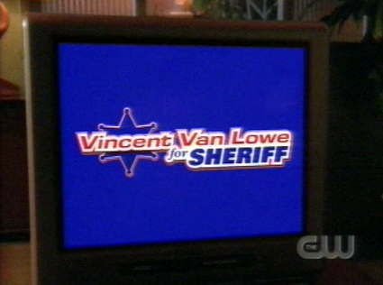 vincent van lowe for sherrif