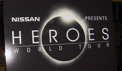 Heroes: World Tour sponsored by Nissan