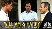 Harry, William, and Matt
