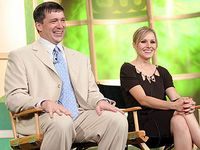 Rob Thomas and Kristen Bell