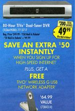 Best Buy TiVo deal