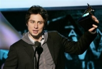 Zach Braff gets a grammy