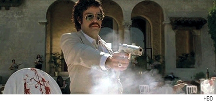 Vincent Chase as Pablo Escobar in 'Medellin.'
