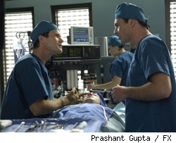 Dylan Walsh and Julian McMahon star in 'Nip/Tuck' on FX.