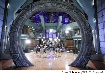 stargate atlantis set visit