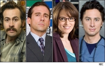Jason Lee, Steve Carell, Tina Fey, Zach Braff