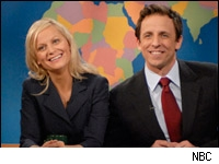 SNL's Amy Poehler and Seth Meyers