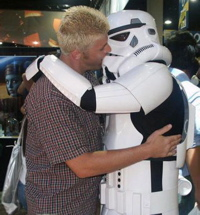 I wish I was married to a Storm Trooper.