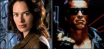 Lena Headey and The Terminator