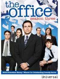 the office season 3 dvd cover
