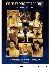 friday night lights season 1 dvd cover