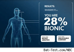 bionic woman; test