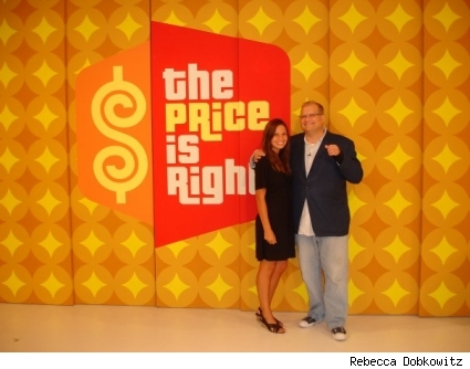 Drew Carey and Rebecca Dobkowitz