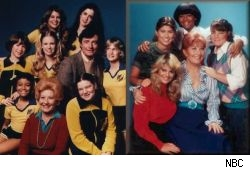 What a difference a season makes. The Season 1 and Season 2 casts of Facts of Life