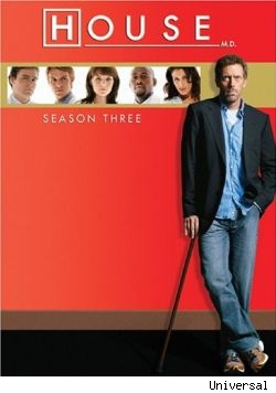 Season Three of house will be released on August 21st.