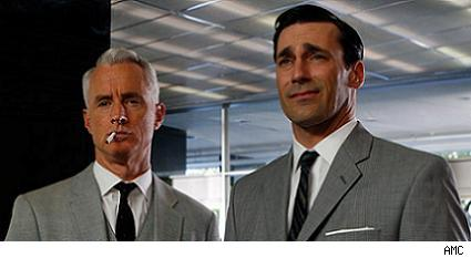 John Slattery, Jon Hamm