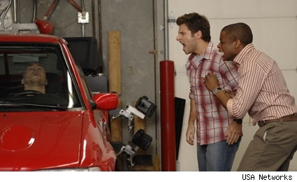 James Roday Dule Hill