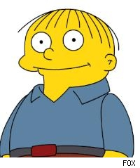 Ralph Wiggum Simpsons