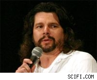 ronald d. moore ron battlestar galactica virtuality fox