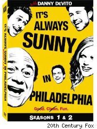 It's always sunny seasons 1 &amp; 2