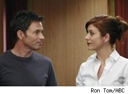 Tim Daly and Kate Walsh of Private Practice