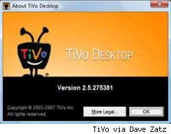TiVo Desktop 2.5