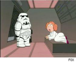 Family Guy's tribute to Star Wars airs tonight