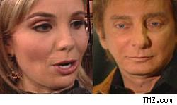 Elisabeth Hasselbeck and Barry Manilow