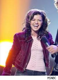 Kelly Clarkson from American Idol