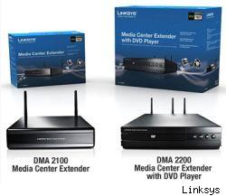 Linksys DMA 2100 and 2200