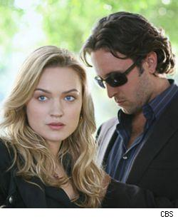 Alex O'Loughlin and Sophia Myles from the new CBS series Moonlight