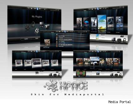 Xface skin for Media Portal