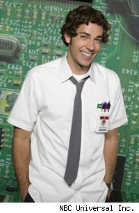 Zachary Levi from Chuck