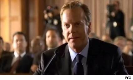 Kiefer Sutherland as Jack Bauer in '24.'