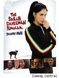 Sarah Silverman progam season one DVD cover