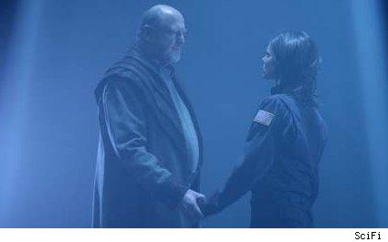 david ogden stiers - torri higginson - stargate atlantis