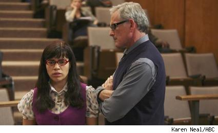 America Ferrera and Victor Garber