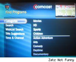 Comcast TiVo boxes