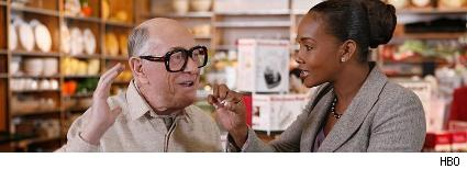 Shelley Berman and Vivica A. Fox